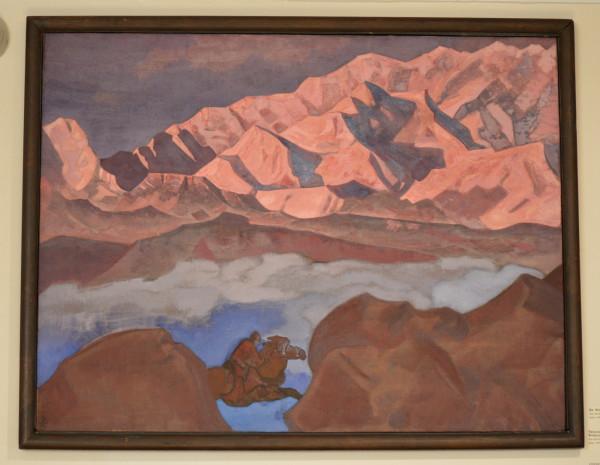 35 Спешащий (1924) Холст, темпера, 89,5 х 116,4