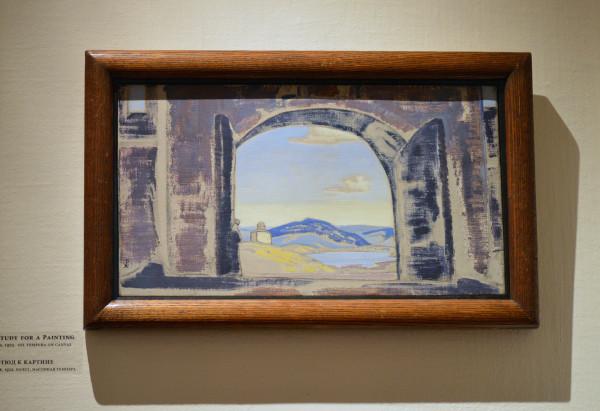 41 Этюд к картине (1922) Холст, масляная темпера (25,5 х 46,0)