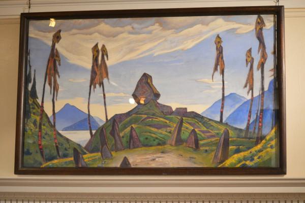 42 Эскиз декорации (1930) Холст, темпера (76,5 127,0)