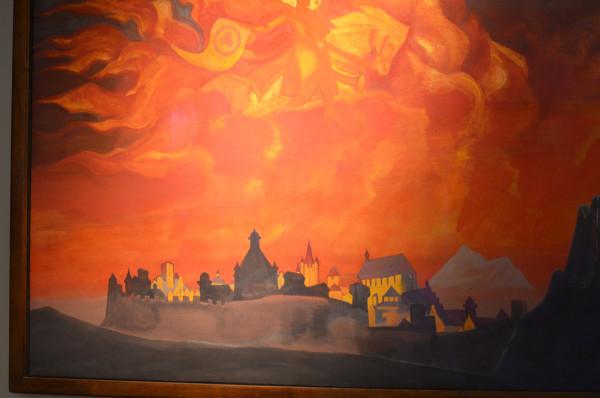44 София-Премудрость (1932) Холст, темпера (107,3 х 153, 0)