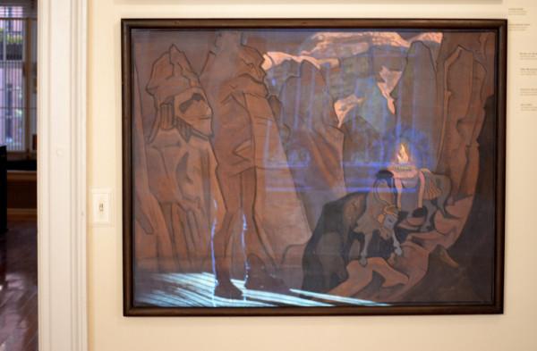 46 Сокровище Мира (1924) Холст, темпера (88,5 х 116,5)