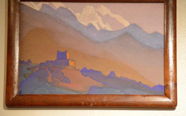 47 Тибет, Гималаи (1936) Картон, темпера (30,6 х 45,8)