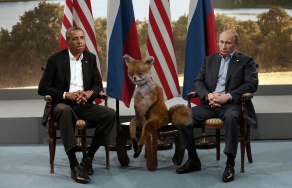Пу и Обама