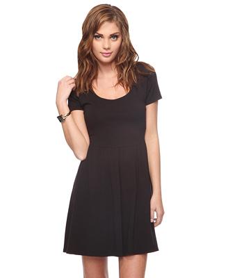 Cutout Back Dress1