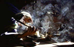 opium-smoke