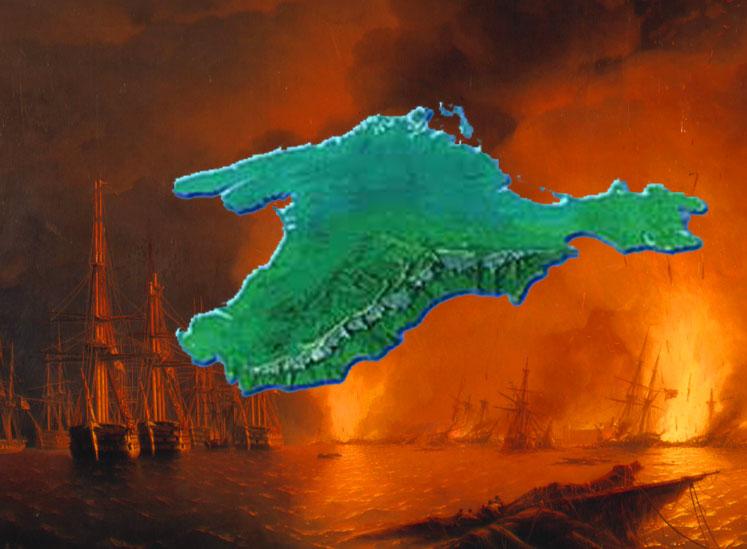 18(30) ноября Черноморская эскадра под началом адмирала Нахимова провела блестящую военную операцию по уничтожению турецкого флота, стоявшего в Синопскойбухте. Так началась Крымской войны 1853-1856 гг., в результате которой Российская империя лишилась Черноморского флота.
