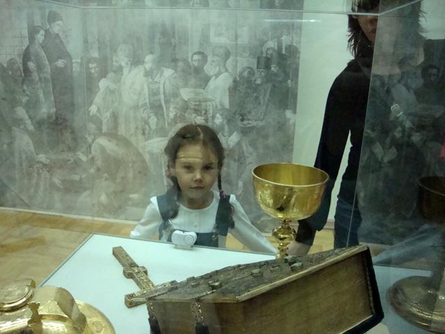 Катёна в Пермской художественной галерее
