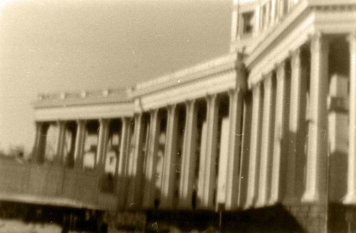 пинхол театр са колоннада
