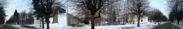 панорама боковая аллея