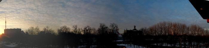 панорама со станции монорельса