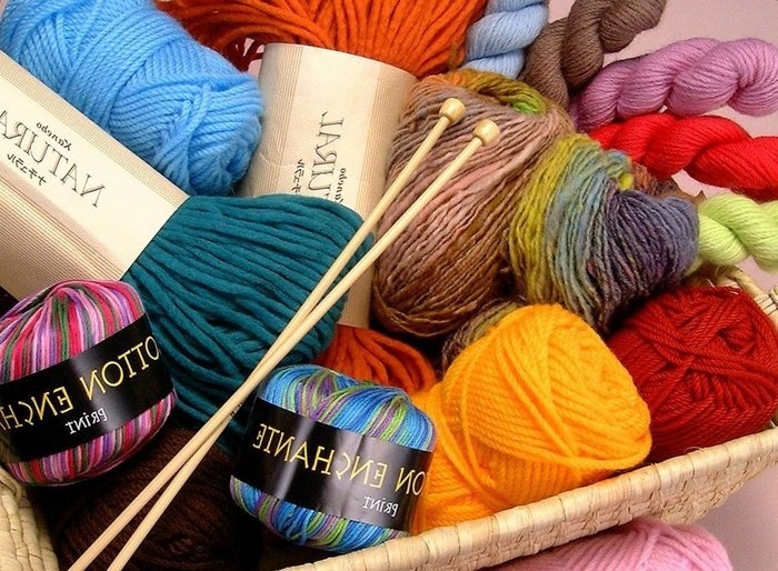 Фото все для вязания