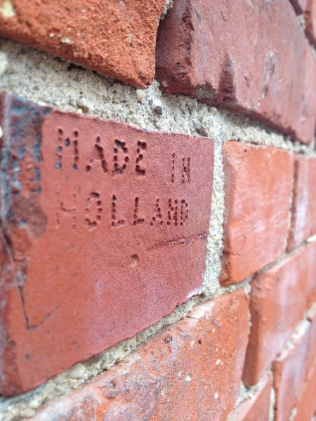 brick from Holland