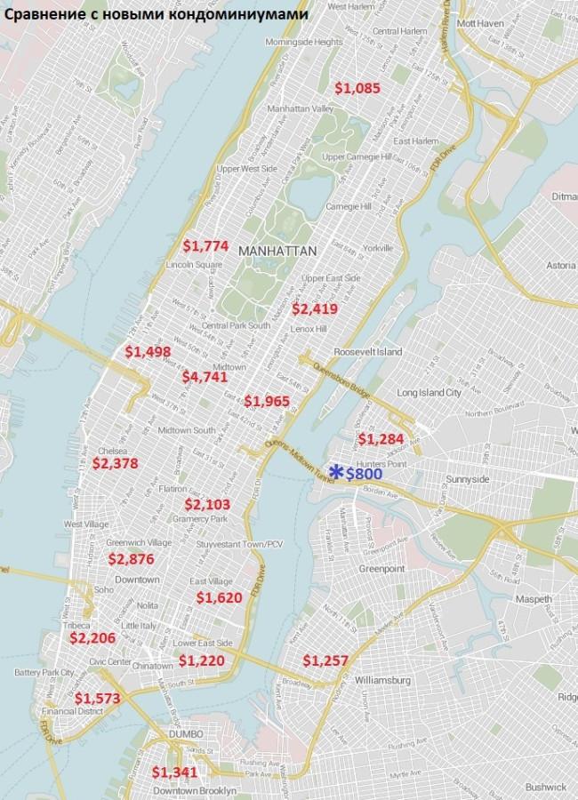 Manhattan map_sales_new condo+