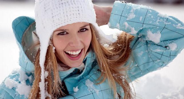 макияж зимой