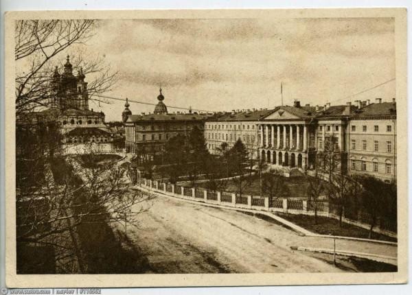 Смольный, 1930 год