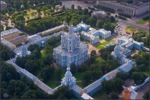 Вид на Смольный монастырь, 2010-2013 гг