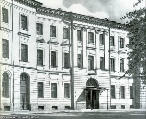Здание Александровского института, 1966 год