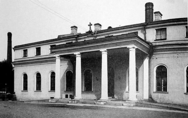 Церковь Воздвиженья Честного креста в Таврическом дворце, 1911 год