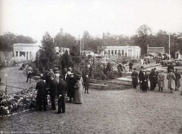 Таврический сад. Международная выставка садоводства, 1914 год