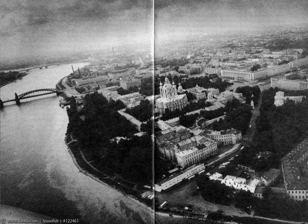 Панорама Смольного, 1985-1995 гг