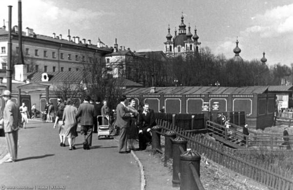 Пристань на Смольной набережной, 1959 год