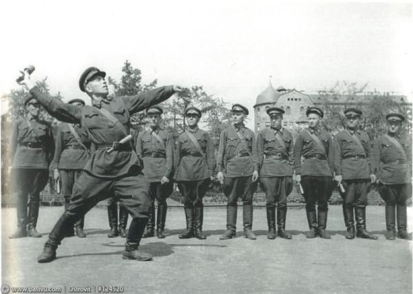 Работники Ленинградской милиции, 1941 год