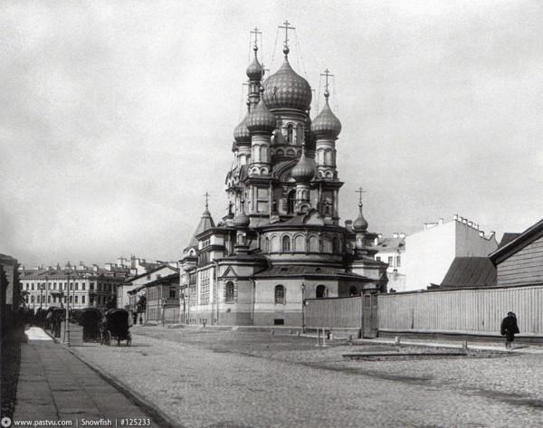 Церковь Шестаковской иконы Божией Матери 1900-1908 гг