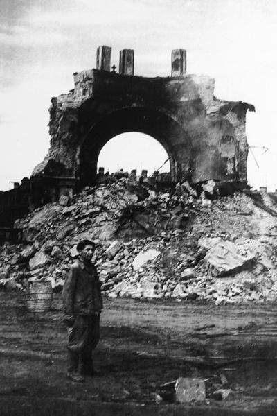 Разрушение Греческой церкви, 1962 год