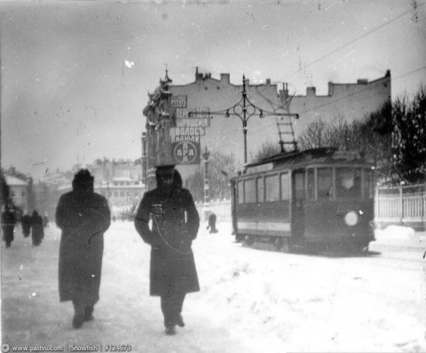 Бассейная улица, 1910 год