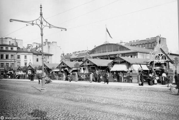 Мальцевский рынок, 1914-1917 гг