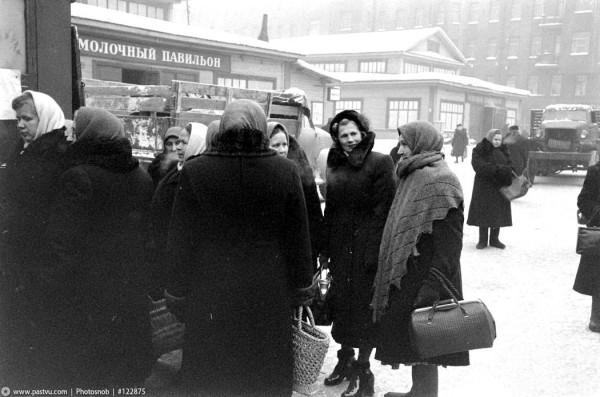 Мальцевский рынок, 1955 год