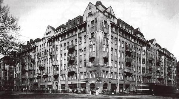 Дом Бассейного товарищества, 1930 год