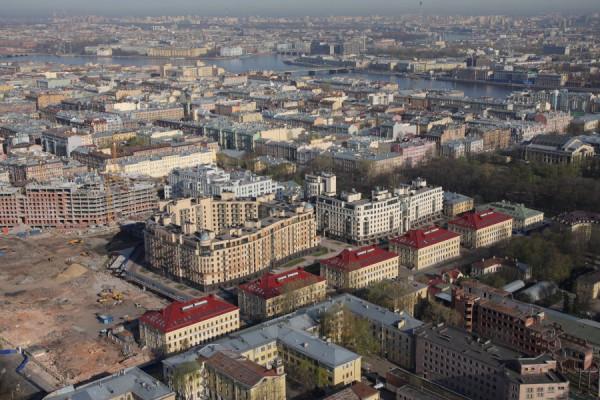 Строительство Парадного квартала, 2000-е гг