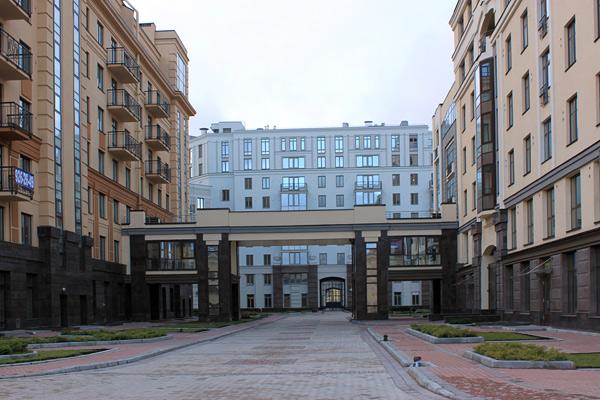 Парадный квартал, дом, 2010 год