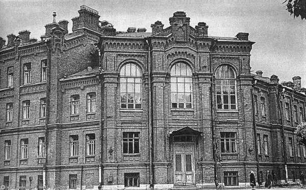 Здание общины сестёр милосердия св. Евгении