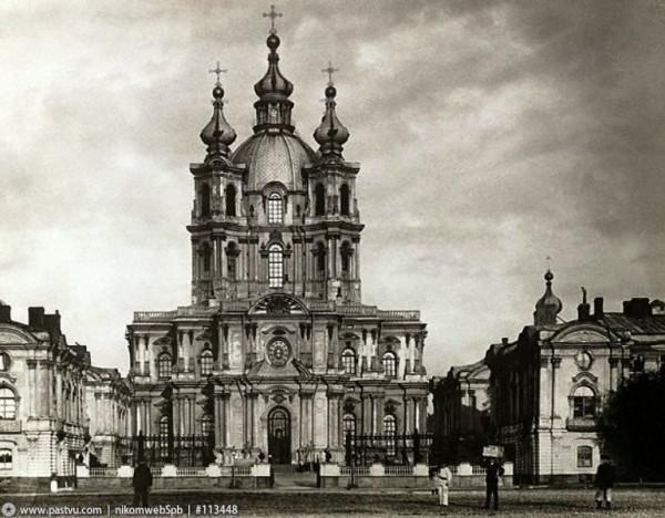 Смольный собор, 1900 год