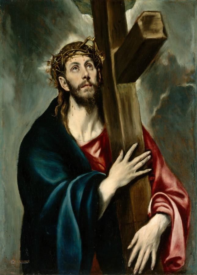 Эль Греко 1540-1614 несение креста