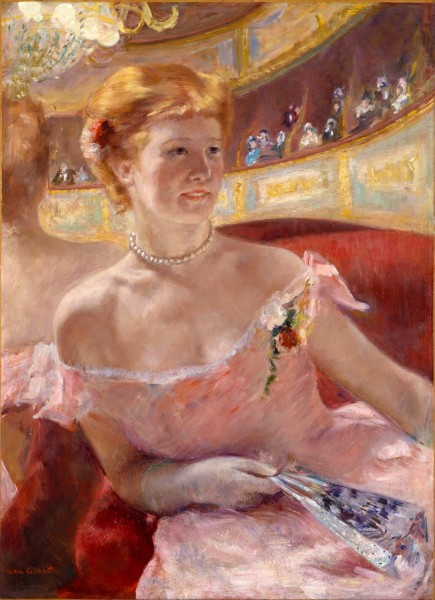 4-Mary Cassatt (1844-1926)  Woman in a Loge.jpg