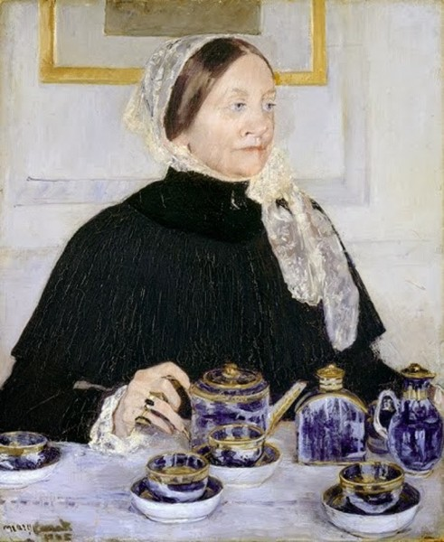 4-Mary Cassatt (American artist, 1844-1926) Lady at the Tea Table 1883-85.jpg
