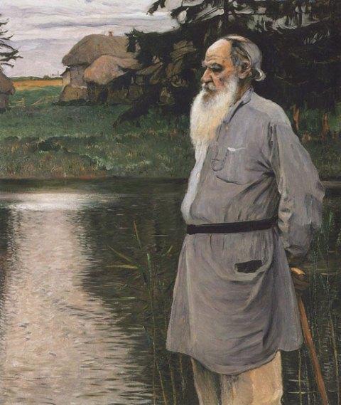 Портрет Л.Н. Толстого работы М.В. Нестерова
