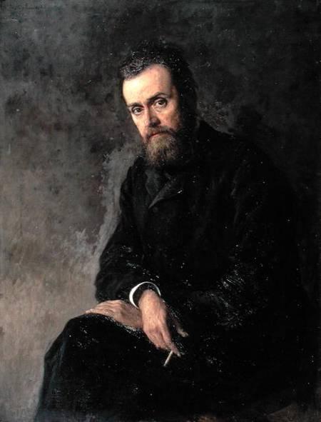 Г.И. Успенский. Портрет работы Н.А. Ярошенко