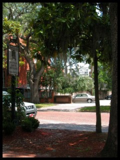 savannah's historic district