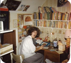 46 1989 studying GCSEs