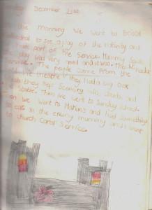1980 Christmas Diary