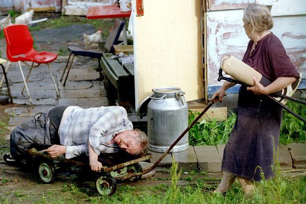 фото пьяные деревенские бабы