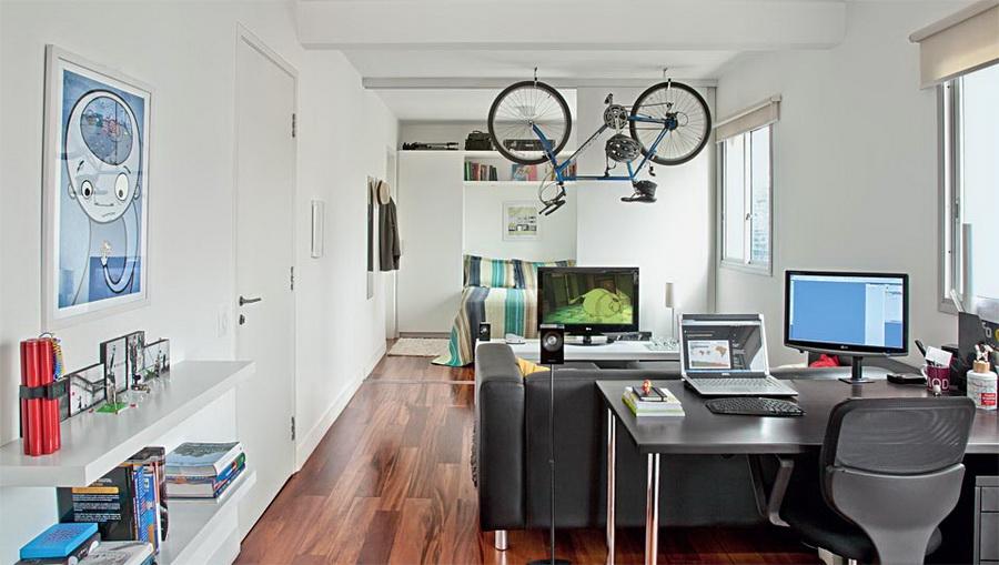 Apartamento de 40m2 decorar tu casa es for Decoration maison 40 m2