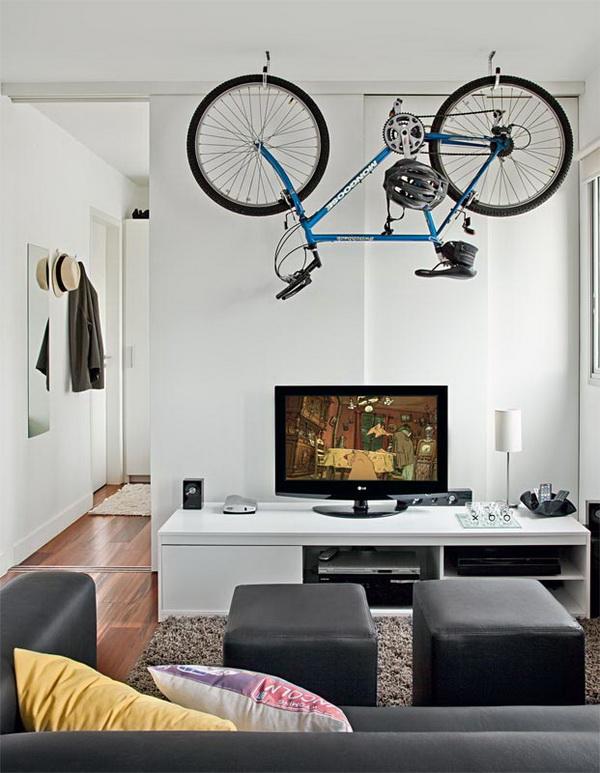 Стоянка для велосипеда в квартире