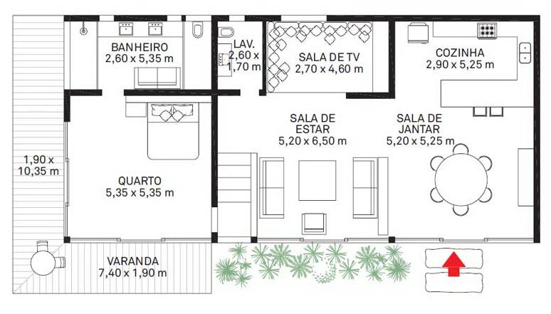 Дом в Бразилии 10