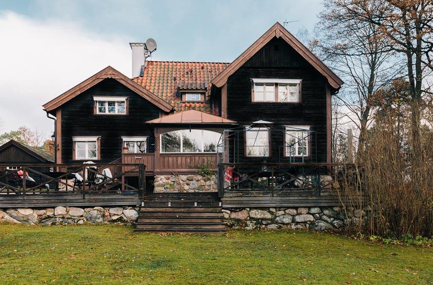 Дом в Швеции 1