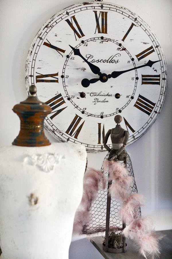 Сделать большие часы своими руками